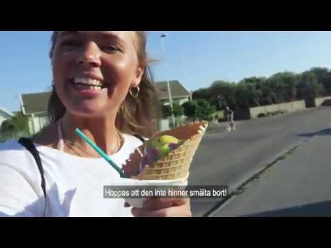 Sandra vloggar med Sommarkortet från Träslövsläge
