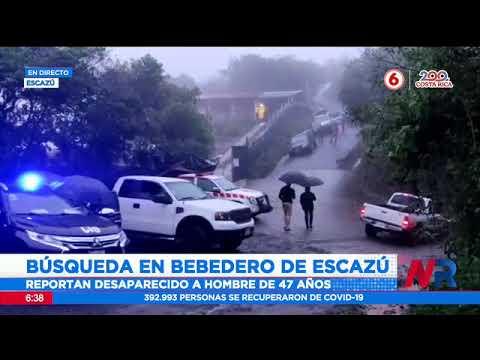 Cruz Roja continúa operativo de búsqueda en Bebedero de Escazú