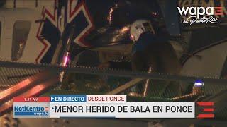 Encuentran 150 decks de heroína en ropa de niño herido de bala en Ponce