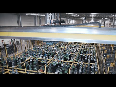 Visit our fully automated cylinder filling site in Enköping