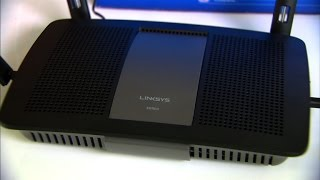 The Linksys E8350 router is powerful and odd at the same time.