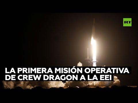 La NASA y SpaceX lanzan la primera misión operativa de Crew Dragon a la EEI