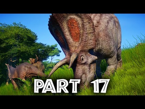 Jurassic World Evolution Gameplay Walkthrough Part 17 - I HATE STORMS