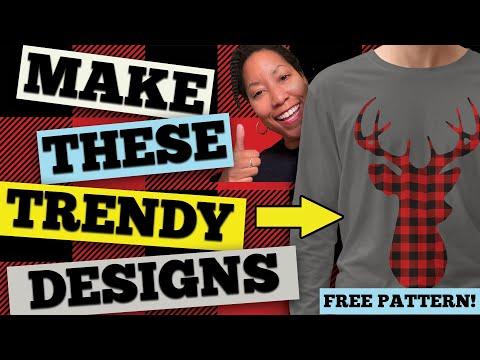 How to Make Best-Selling Buffalo Plaid T-Shirts (Canva, Gravit & Photoshop Tutorial)