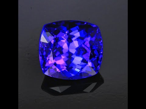 Tanzanite Antique Cushion 17.30 Carats
