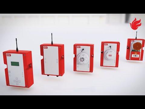 Mobilt Brand- och utrymningslarm WES3