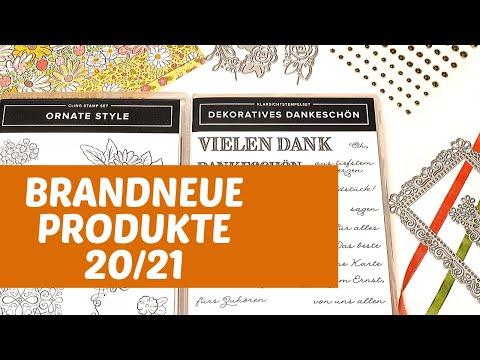 Brandneue Stampin' Up! Produkte 2020/21