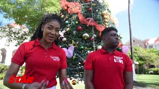 D'Angel makes Christmas merry for Spanish Town's needy