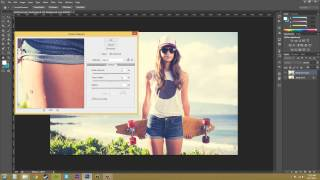Photoshop CS6 Tutorial - 83 - Smart Sharpen
