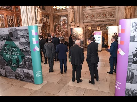 London Luton Airport Exhibition In House of Commons