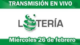Lotería Nacional Gana Mas en VIVO / miércoles 26 de febrero 2020