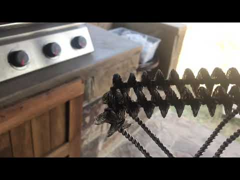 Bristle Free Grill Brush by Gven Review and Demo