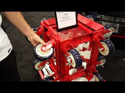 JMC Equipment visits the DJS Fabrication Booth at the SEMA 2016 Show