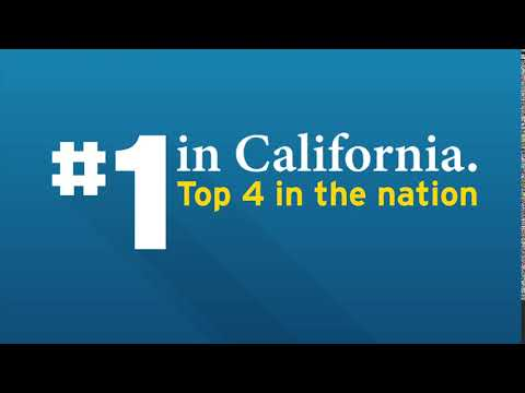 We're proud to be the best in California
