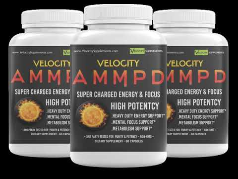 Velocity AMMPD – Super Charged Energy & Focus Supplement Video