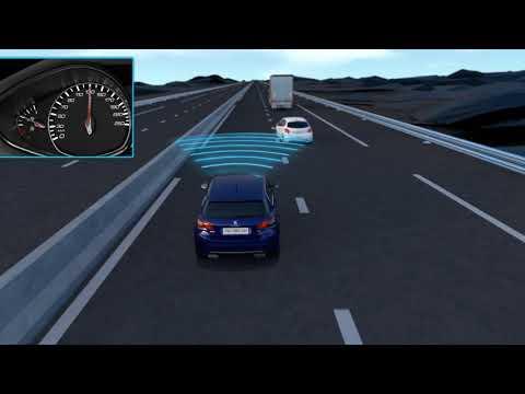 Peugeot 308 Safety brake