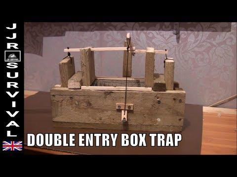 DOUBLE DOOR RAT TRAP