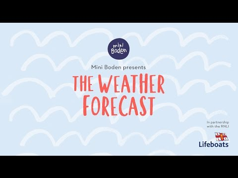 boden.co.uk & Boden Promo Code video: The Weather Forecast: A Mini Boden Love Story