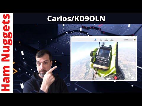 Ham Nuggets Live w/Carlos, KD9OLN Parachute Mobile