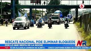 Rescate Nacional pide eliminar bloqueos