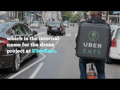 Uber Wants to Deliver Food to Your Door Using Drones