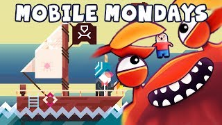 Mobile Mondays - Crabitron, Ridiculous Fishing and Heads Up