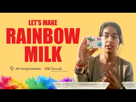 JEP Young Scientists: Let's Make Rainbow Milk