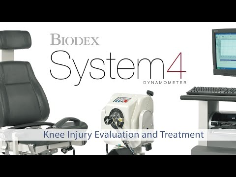 Biodex System 4 - Knee Injury Evaluation and Treatment