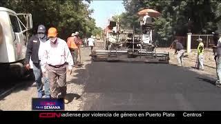 Intervienen carretera San Francisco de Macorís-cruce autopista Duarte