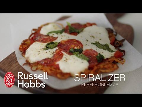Hur man gör en god pizza med hjälp av Russell Hobbs Ultimate Spiralizer (kort)