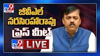 BJP GVL Narasimha Rao Press Meet LIVE - TV9 - TV9
