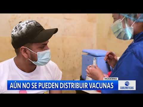 Vacunas no se pueden usar por falta del certificado de calidad