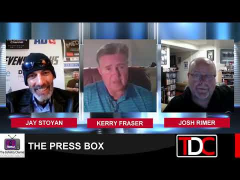 , TDC – PRESS BOX Talk Toronto Maple Leafs and Memories w/ Former NHL Referee Kerry Fraser, Wheelchair Accessible Homes