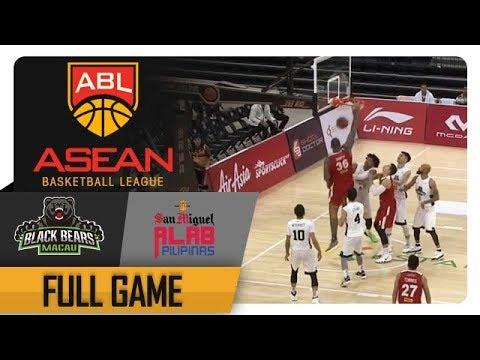 ABL '18-'19: Macau Black Bears vs. Alab Pilipinas | Full Game | 3rd Quarter | March 15, 2019