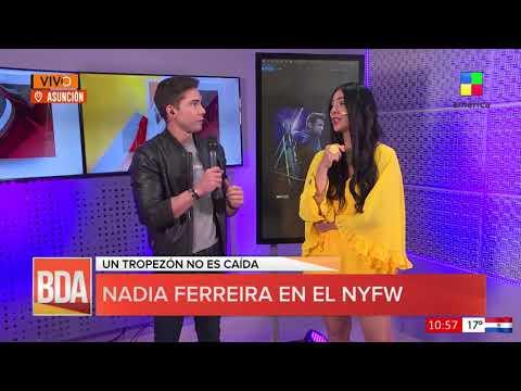 #BDAPy - Nadia Ferreira en el New York Fashion Week