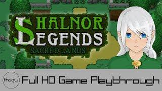 Shalnor Legends: Sacred Lands - Full Game Playthrough (No Commentary)