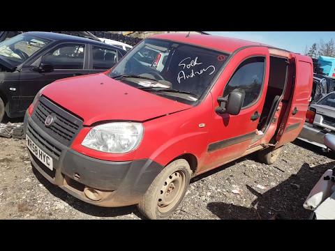 Fiat Doblo 2009 m dalys