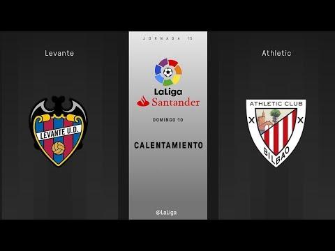 Calentmaiento Levante vs Athletic