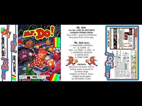 Canal Homebrew: Mr.Do! (Adrian Singh/Mark R Jones) Spectrum