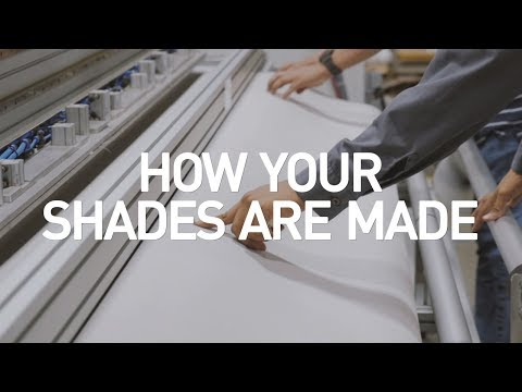 How Your Shades Are Made