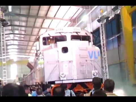 Inauguração de Fábrica de locomotivas em Sete Lagoas