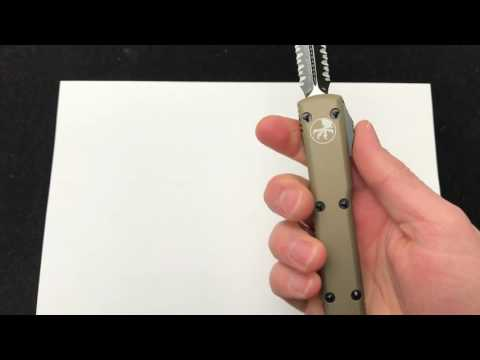 Microtech Ultratech Contoured Chassis Spartan Blade