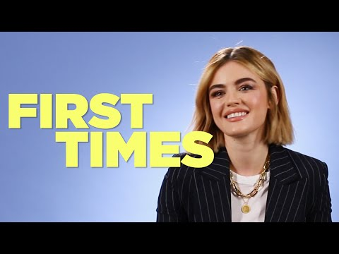 Lucy Hale Tells Us About Her First Times