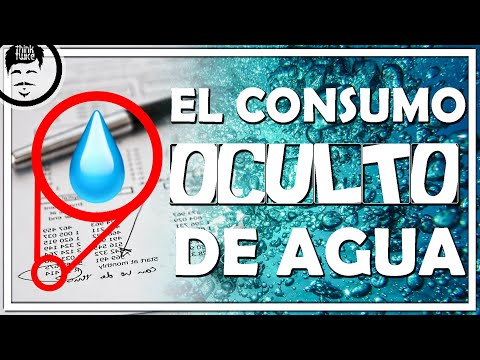 ¿Cómo afecta la riqueza al consumo de agua?   Huella hídrica: la contabilidad del agua