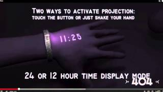 The 404: Projector Smartwatch
