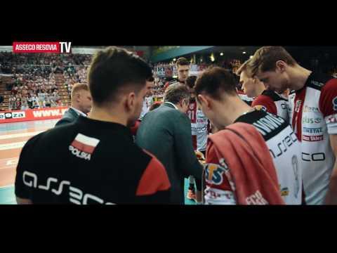 Drugi mecz półfinałowy: Asseco Resovia - PGE Skra
