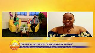 Handmade By Shann: Promoting Culture Through Art | Sunrise: Cultural Spotlight  | CVMTV