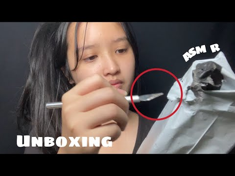 ASMR-แกะกล่องพัสดุ-Unboxing-(E