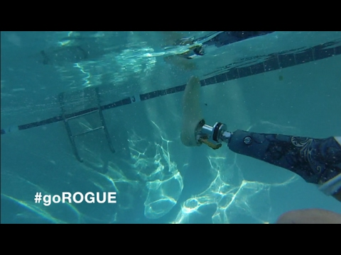 Is the RUSH™ ROGUE Waterproof?  YOU BET!
