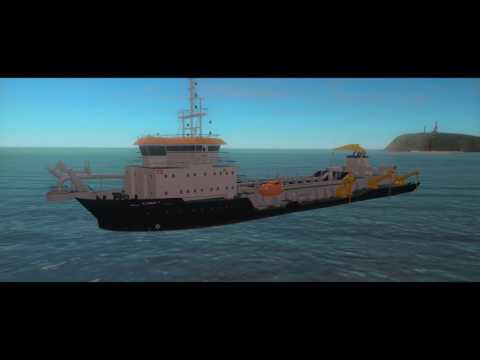 IHC training simulator trailing suction hopper dredgers (TSHDs)